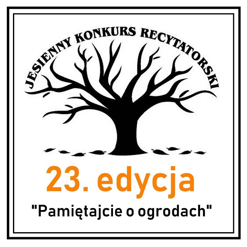 Eliminacje gminne do 23. Jesiennego Konkursu Recytatorskiego