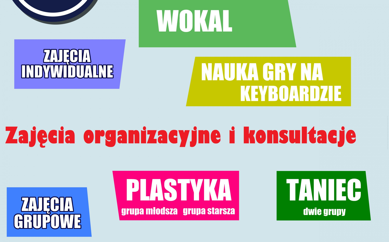 Zapraszamy na zajęcia organizacyjne i na konsultacje