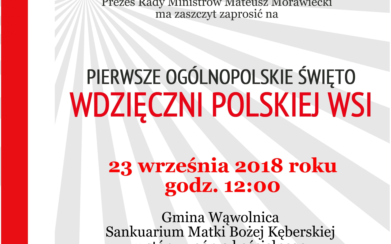 I Ogólnopolskie Święto Wdzięczni Polskiej Wsi