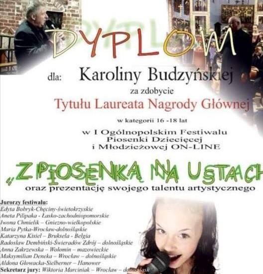 I Ogólnopolski Konkurs Wokalny ON-LINE