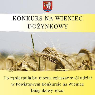 Powiatowy Konkurs Wieńców Dożynkowych ŁĘCZNA 2020